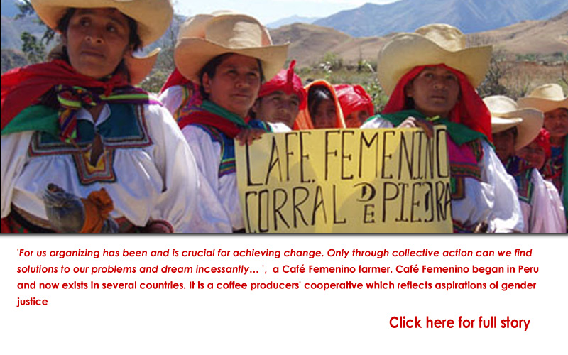 From Peru: Cafe Femenino