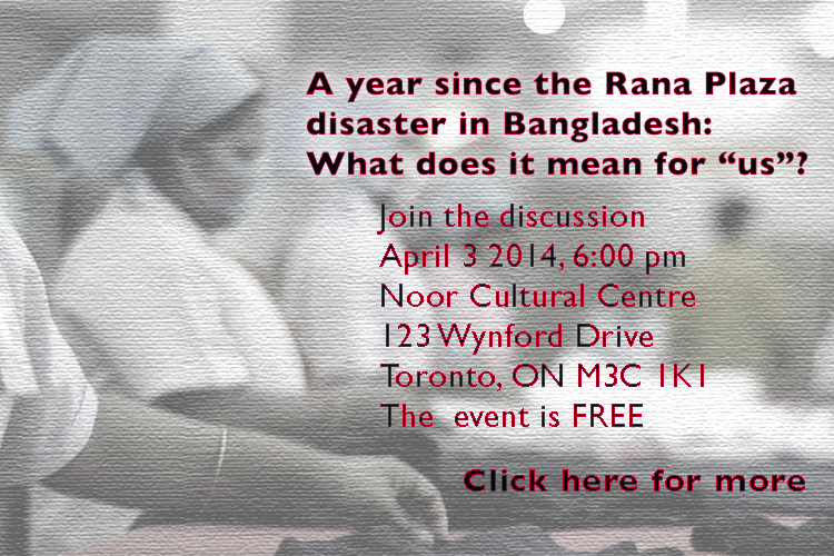 One Year After the Rana Plaza disaster